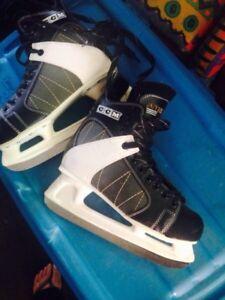 Men's CCM intruder hockey skates