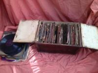 Large amount of 78rpm records