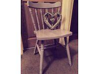 Lilac chairs £12.50 each