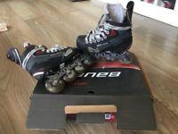 Kids Bauer vapor X40R inline roller skates size 2