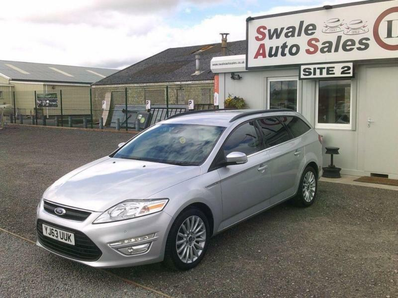2013 FORD MONDEO 2.0 ZETEC BUSINESS EDITION TDCI DIESEL - 43,406 MILES - FSH