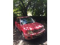 Petrol Nissan micra, 22k miles, full MOT & service history, one owner since new, new tyres & clutch