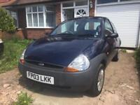 2003 Ford Ka low miles, 1 lady owner from new. Full mot