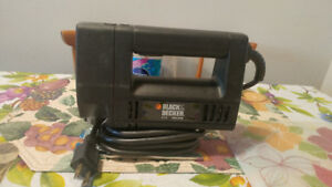 Single speed Black and Decker jigsaw for sale in new condition