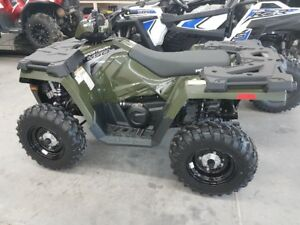 2017 Polaris Sportsman 450HO PKG Deal @ Patterson Sales TRUR