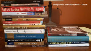 Collection of Catholic Books for Sale -- Part 1