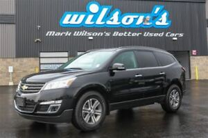 2017 Chevrolet Traverse LT AWD!  REAR CAMERA! $95/WK, 5.89% ZERO