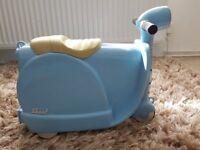 Blue Skoot Suitcase