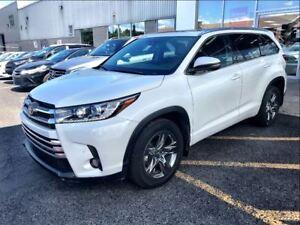 2017 Toyota Highlander LIMITED GPS CUIR BLUETOOTH 4x4
