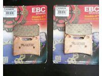 EBC motorcycle breaks