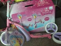 Disney princess 2 in 1 sit and scoot brand new