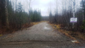 VACANT LAND- 5 ACRES PARTIALLY TREED WITH DRIVEWAY & CULVERT