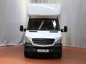 2014 Mercedes-Benz Sprinter, 313 CDI, Luton Van, Tail lift, Blue-efficiency, Non-VAT