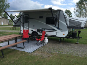 2017 Jay Feather towable by Jayco