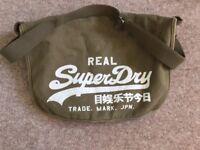 Superdry haversack/shoulder bag khaki
