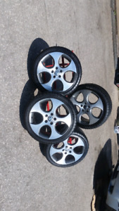 2008 VW GTI rims made by BBS