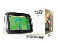 Brand New TomTom Rider 40 - Built for Bikers