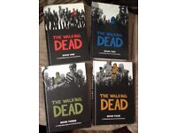 The walking dead hardback editions of the comics