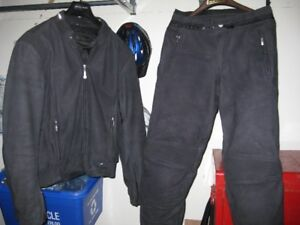 BMW Leather jacket and pants motorcycle suit