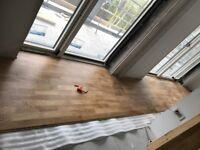 Laminate /wood flooring,vinyl ,PLASTERING,PAINTING