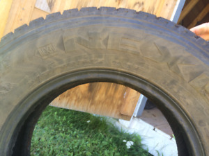 215  70 R15 winter tires set of 4