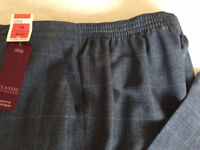 Ladies M&S Classic Pull on Trousers Size 18 Short NEW with Tags