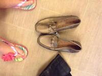 Pair of bon marche shoes