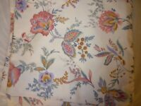 HUGE LOT OF VINTAGE M&S UPHOLSTERY FABRIC 140ins x 80ins