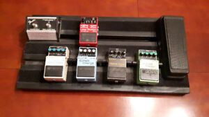 Handcrafted Pedal Board