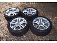 "Genuine 20"" Audi Q5 S Line Alloy Wheels 255/45R20 Michelin Tyres 8R0601025AP"