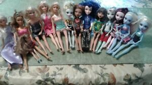Barbie & Monster High Dolls