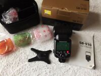 Nikon SB-910 Speed light Flashgun