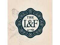 Head Bartender - The Lost & Found, Greek Street Leeds