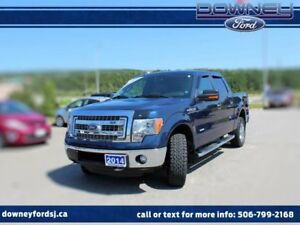 2014 Ford F-150 XLT 302A LEATHER 4X4 3.73 DIFF MAX TOW XTR