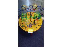 Activity Racking Bead Maze Table - URGENT