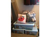 Assortment of Christmas Decorations