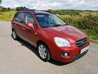 2008 KIA CARENS 2.0 GS...56000 MILES...MINT CONDITION..FORD RENAULT VAUXHALL