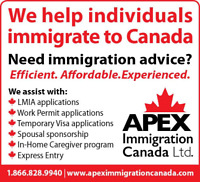 Junior Immigration Consultant for downtown Vancouver office