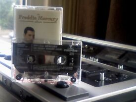FREDDIE MERCURY - THE ALBUM PRERECORDED CASSETTE TAPE