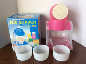 Ice Shaver / Sno-Cone maker - brand new