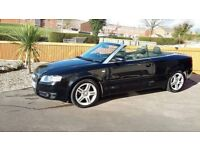 Audi a4 convertible, 08 plate, very good condition.