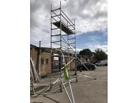 Used instant aluminium scaffold tower