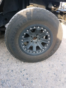 5 - 17in rims and tires