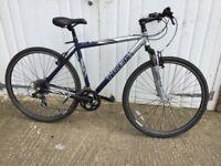 "Trek 20"" Aluminium Framed hybrid bike, 21 Shimano quick shift gears,"
