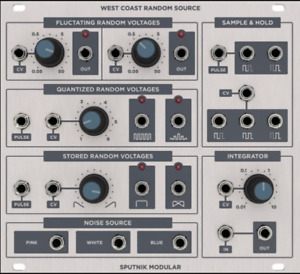 eurorack West coast Random Source