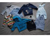 Baby Boy Clothes Bundle 3-6 months 30 items