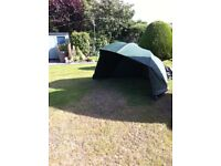 FISHING BROLLY/OVERWRAP SHELTER