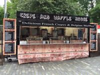 Edinburgh festival Street Food staff wanted from now until end of August