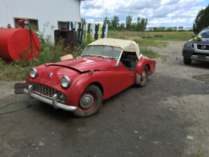 1958 Triumph TR3 for sale