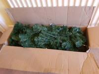 7ft Artificial Christmas Tree (Used Once)